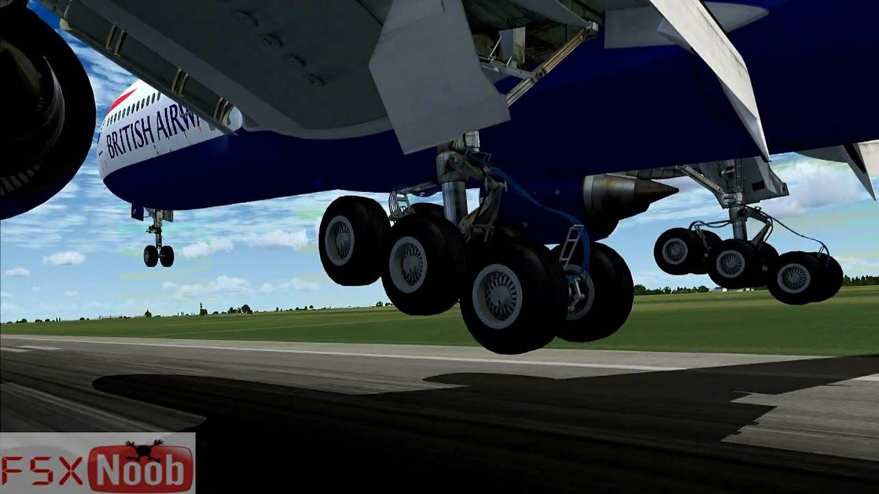 Mlg Hd Wallpaper 777 Landing Gear Test Fsx Hd Youtube