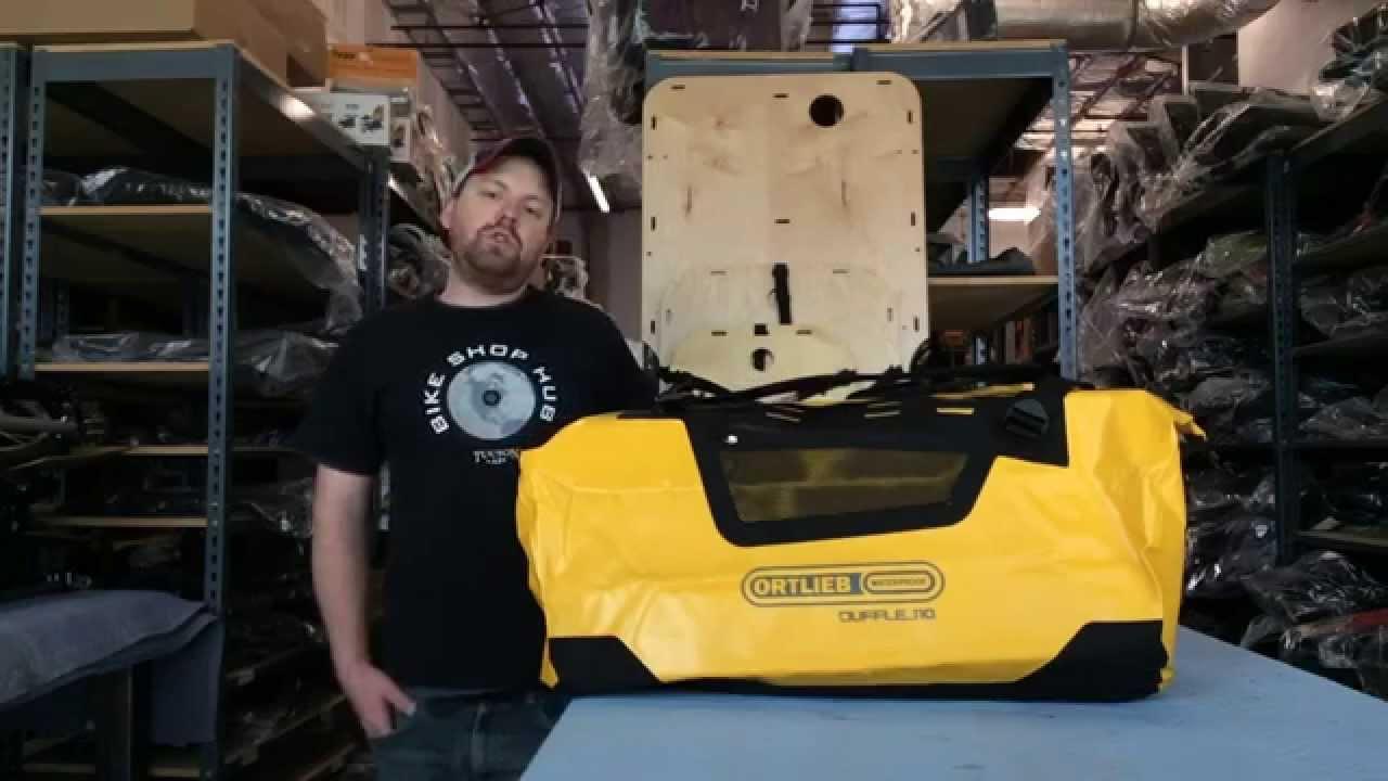 Waterproof Duffle Bags >> Ortlieb Duffle BackPack - YouTube