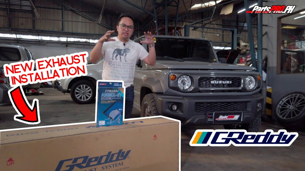 2019 Suzuki Jimny gets a new exhaust system