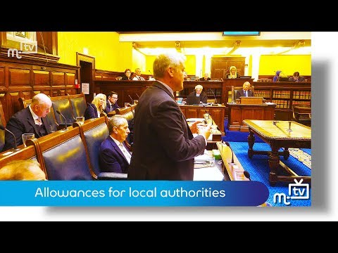 Allowances for local authorities
