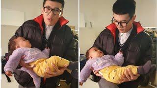 급식왕 님에게 오해 받은 국민이 ㅜㅜ (자세 어정쩡) | 국민이 세로 일상 | 12개월 아기 짧은 일상 모음 |