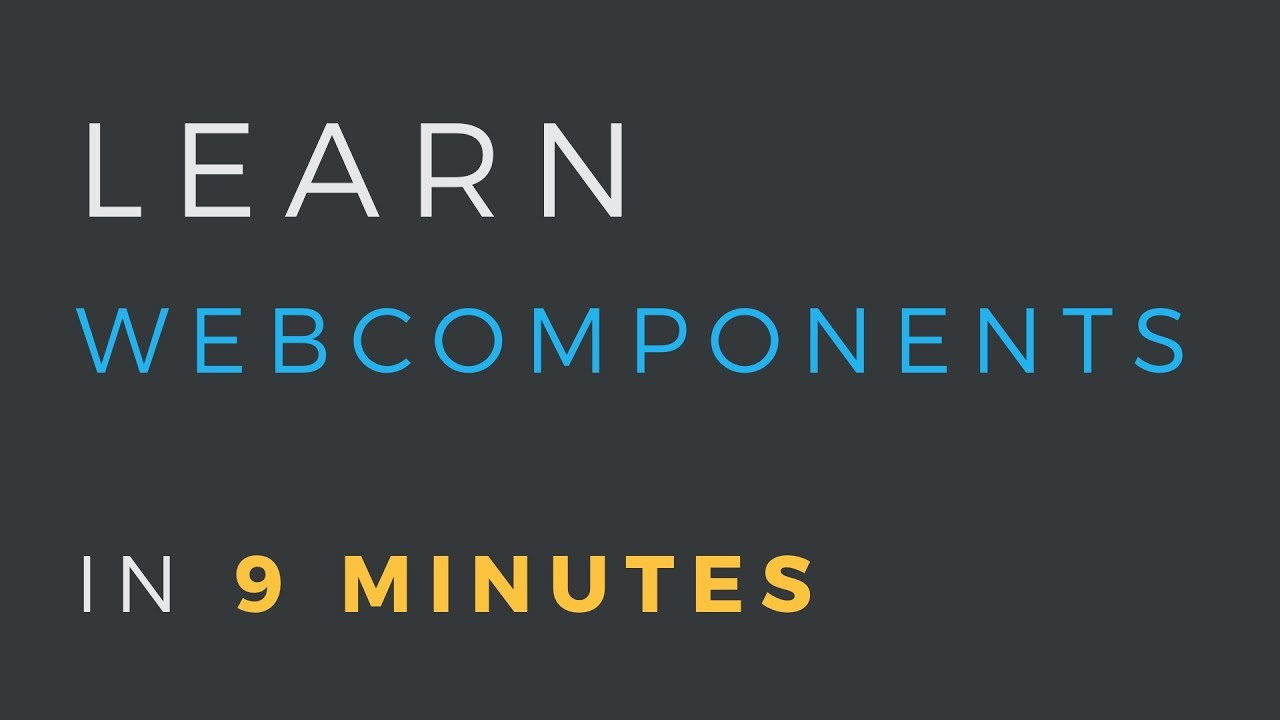 How to use Web Components