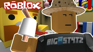 Roblox | ESCAPE THE BATHROOM! | I SAW POOP!!