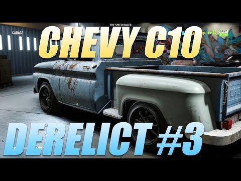 Need For Speed Payback - Derelict Part Locations - 1965 Chevrolet C10 Stepside Pickup