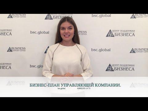 БИЗНЕС-ПЛАН УПРАВЛЯЮЩЕЙ КОМПАНИИ