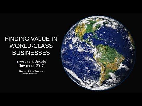 Peters MacGregor Investment Update - November 2017