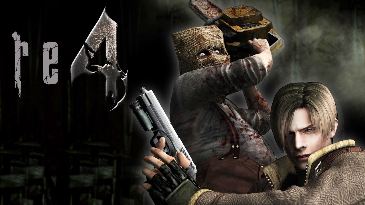 Resident Evil 4 Remastered The Village Fight Dr Salvador Boss