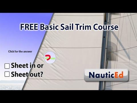 FREE Basic Sail Trim Sailing Course