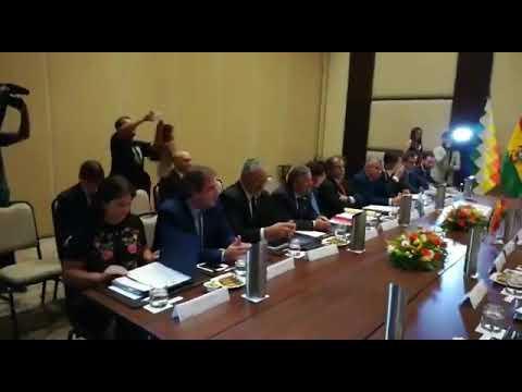 Morales en la cumbre sanitaria: Creemos que es justo tratar el tema de la reciprocidad
