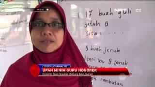 Upah Minim Guru Honorer di Tanjung Balai - NET 10