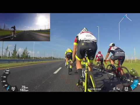 Rosewood Road Race Series 3 - 08/06/17 Filmed w/ Garmin Virb Ultra  Front & Rear - Miami Cycling