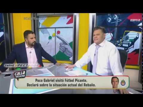 ¿Por que Alvaro Morales no estuvo con Paco Gabriel de Anda en Futbol Picante? - CYE