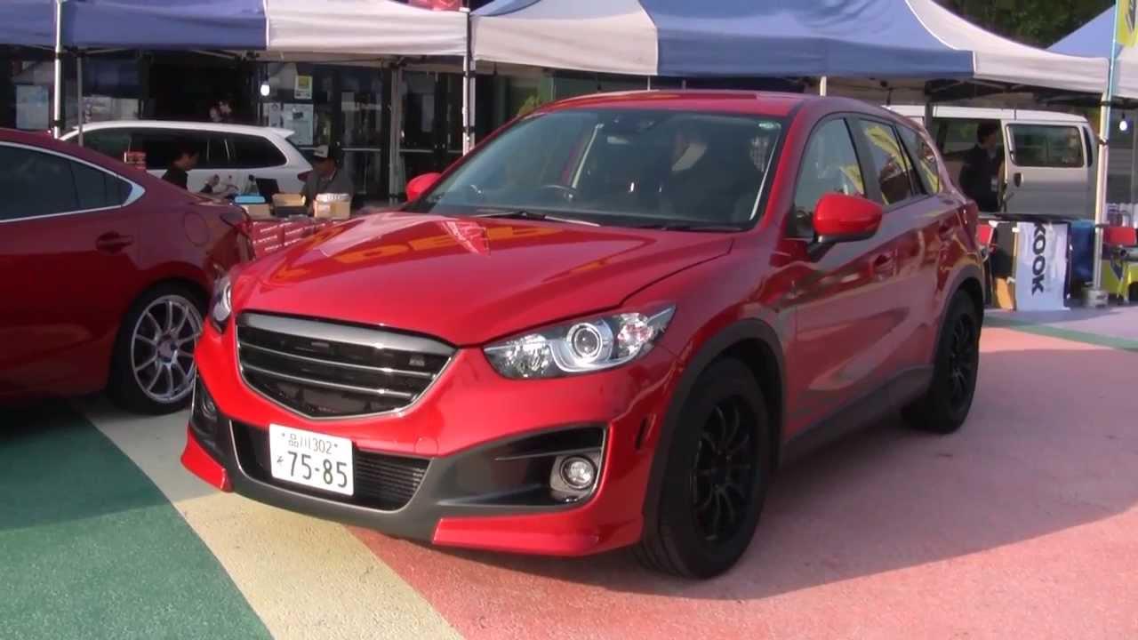 Modified CX-5 by Knight Sports | Mazdas247 - YouTube