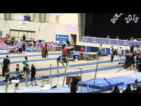 Emily Carey~Northeast Gymnastics Academy~2015 Buckeye Classic~Bars