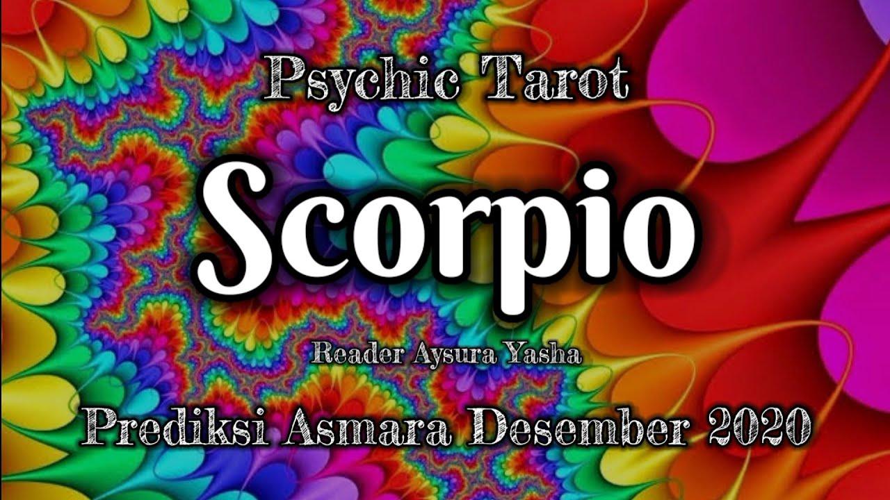 Scorpio Desember 2020 (asmara) Dia merasa bersalah akan tindakannya