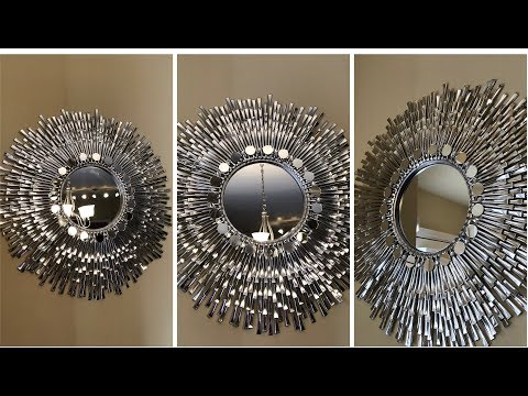 "Dollar Tree DIY - 💕 24"" Decorative Wall Mirror 💕"
