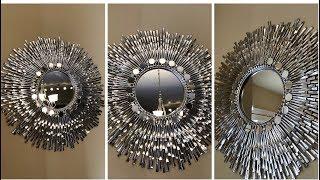 "Dollar Tree Diy || 24"" Decorative Wall Mirror"