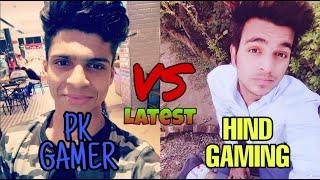 Hind Gaming Vs pk gamer Latest fight insane gamplay Novo