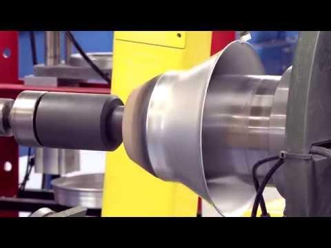 Newtec Robotic Metal Spinning Promo