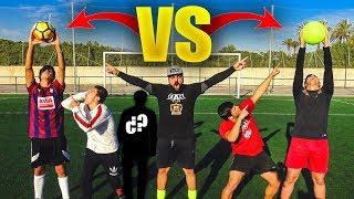 PENALTIS GIGANTES VS ¿INVITADO SORPRESA? ¡Retos de Fútbol! [Crazy Crew]