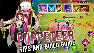 [Onmyoji Arena] Puppeteer - How To Play And Build Guide   MID Gameplay