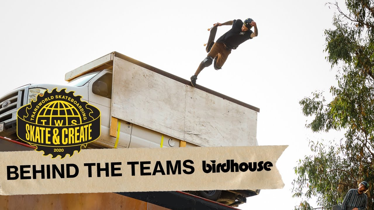 Birdhouse Skateboards - Skate and Create 2020 - Behind the Teams