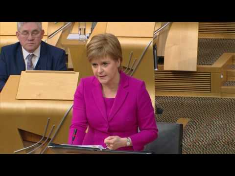 First Minister's Questions - Scottish Parliament: 9th February 2017