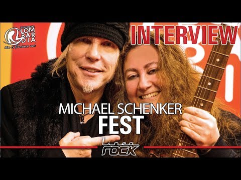 MICHAEL SCHENKER (Fest) - interview @Linea Rock 2018 by Barbara Caserta