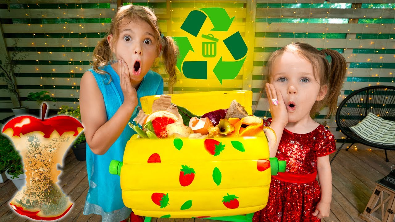 Five Kids The Recycling Song + more Children's Songs and Videos