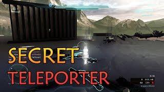 SECRET TELEPORTER! FREE KILLIONAIRES!! Halo 5 Infection