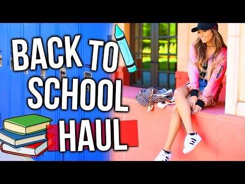 BACK TO SCHOOL Clothing/Beauty Haul!! Urban Outfitters, Lip Kits, Target & more!