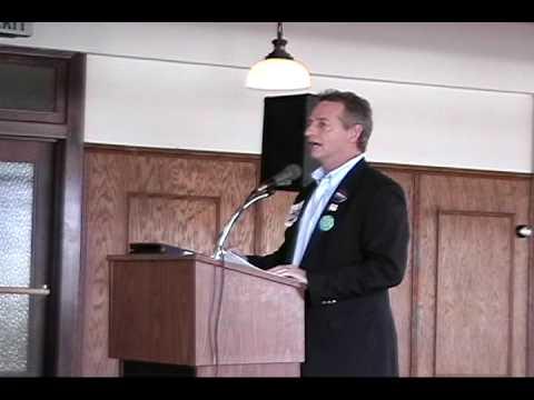 Weber County Democrats 2009 Convention - Wayne Holland, Jr Keynote (Part 1 of 2)