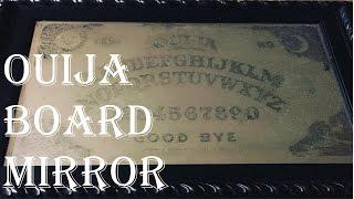 How to DIY Spooky Ouija Board Mirror - Diy Gothic Mirror