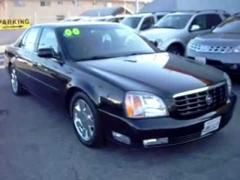 2000 Cadillac De Ville DTS Sedan - YouTube