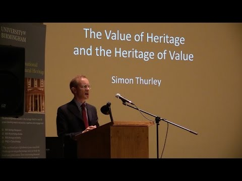 Ironbridge Annual Lecture 2014, Simon Thurley