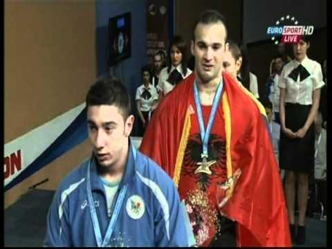 Erkand Qerimaj è campione Europee Sollevamento Pesi