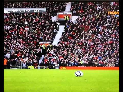 Fabio Aurelio Freekick Against Man Utd