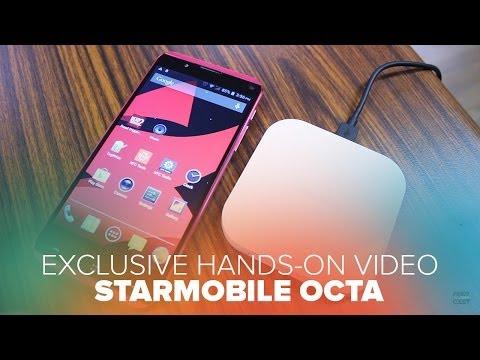 EXCLUSIVE! Starmobile Octa Hands-on Features - True Octa Core Smartphone