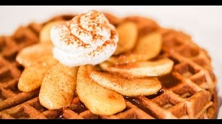 Gingerbread Waffles - Blendtec Recipes