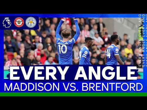 Maddison Caps Off Great Counter Attack | Every Angle