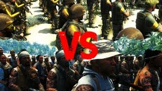FarCry 3 - Privateer Army VS Rakyat Army - AI Battle