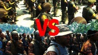 FarCry 3 - Privateer Army VS Rakyat Army - AI Battle