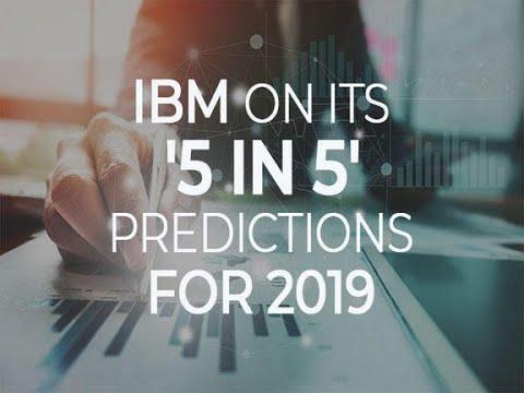 .IBM 科技預測:5 年改變人類生活五項技術
