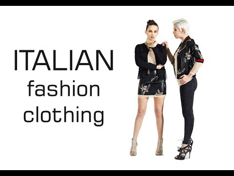 Italian fashion clothing wholesale - Brands & manufacturers Italian  clothing & accessories