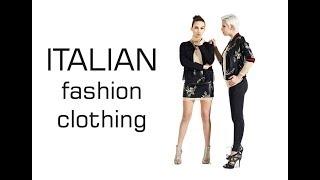 Italian Fashion Clothing Wholesale   Brands & Manufacturers Italian Clothing & Accessories