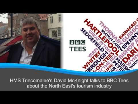 HMS Trincomalee's David McKnight talks to BBC Tees