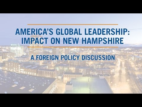 America's Global Leadership: Impact on New Hampshire