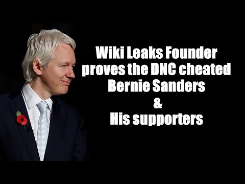 Wiki leaks proved the DNC cheated Sanders & His supporters