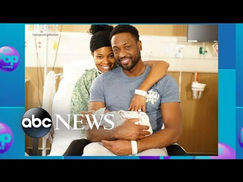 Gabrielle Union, Dwyane Wade welcome miracle baby girl