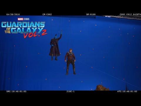 Guardians of the Galaxy Vol.2  Gag Reel  Funny BTS s   Marvel  HD